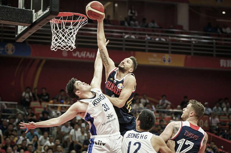 Košarkaška reprezentacija Rusije, košarkaška reprezentacija Južne Koreje