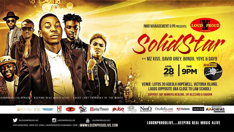 LoudNProudLive with SOLIDSTAR April Edition