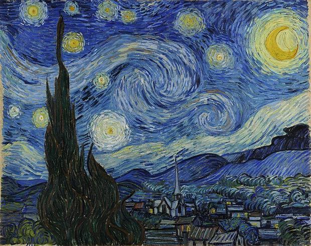 Gwiaździsta noc (hol. De sterrennacht, ang. Starry Night) – obraz olejny Vincenta van Gogha