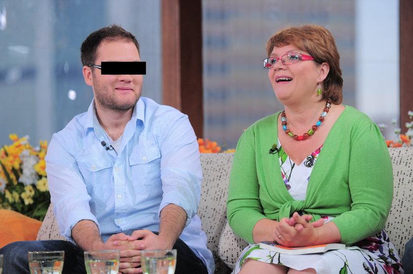 Dorota Zawadzka z synem