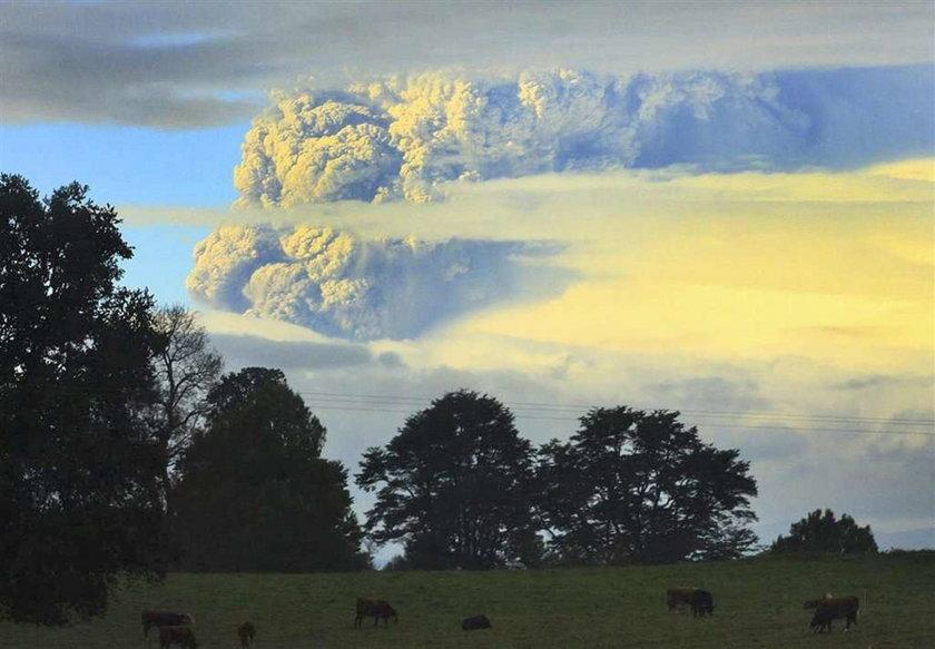 Co za zdjęcia! Zobacz wybuch wulkanu w Chile!