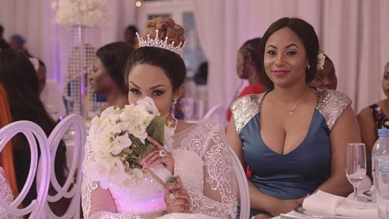 Diamond Platnumz sister Esma with Zari Hassan
