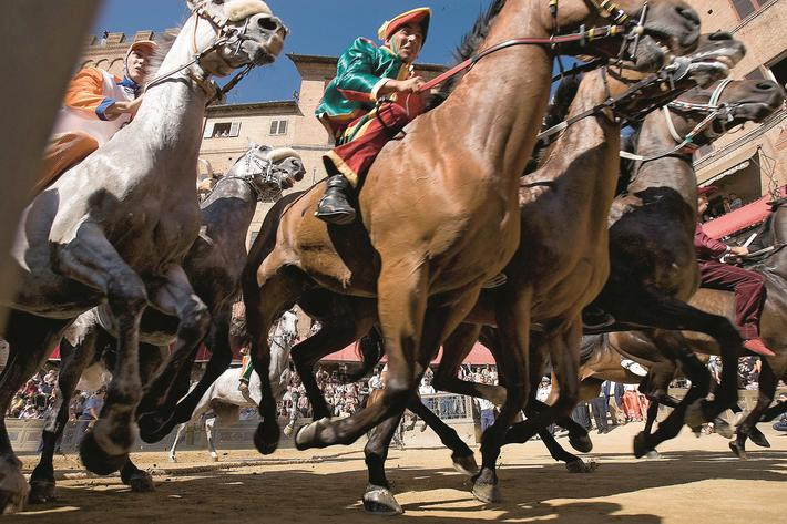 Siena Prepares For Annual Palio Horserace