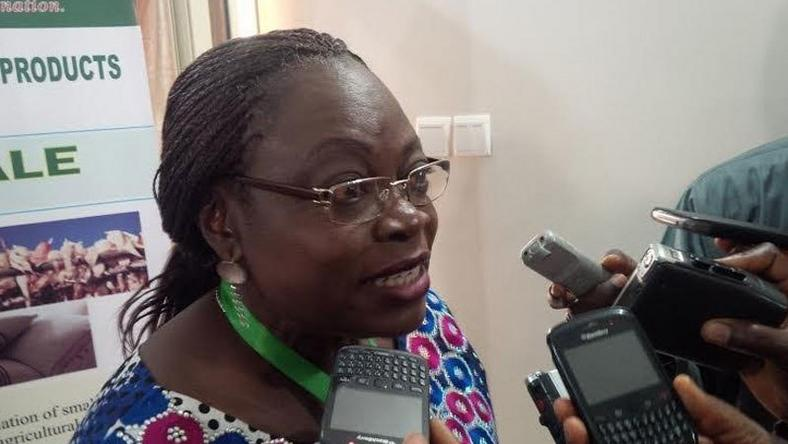 Acting DG of NAFDAC, Mrs.Yetunde Oni