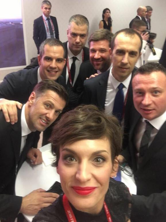Selfi za uspomenu delegacije FSS