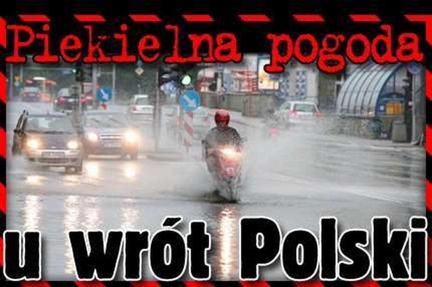 Piekielna pogoda u wrót Polski