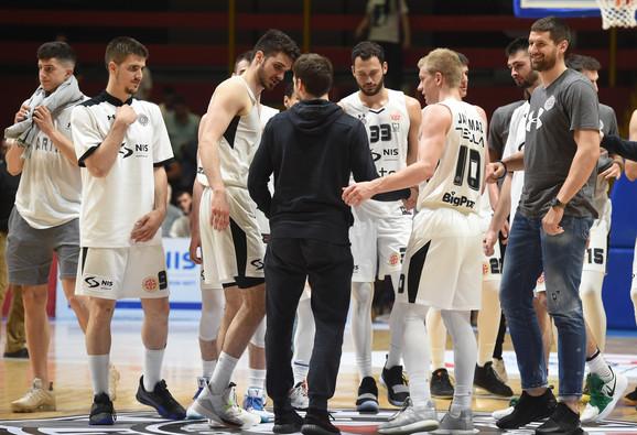 Čekajući vajld kard Evrolige: Košarkaši Partizana