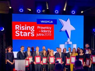 Rising Stars Prawnicy - liderzy jutra 2019. Ranking wschodzących gwiazd prawa