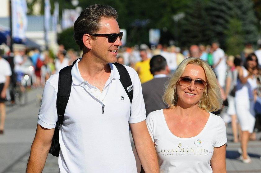Agata Młynarska i Piotr Schmidt