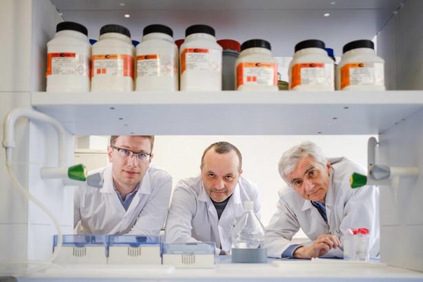 dr Maciej Kapkowski , dr Tomasz Siudyga , prof. Jarosław Polański, fot. Dawid Markysz / EDYTOR.net