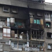 Požar Blok 28 Anja Bulevar Milutina Milankovićam 110