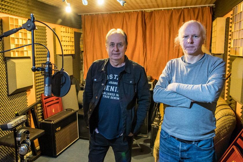 Przyjaciele Krawczyka ze studia nagrań
