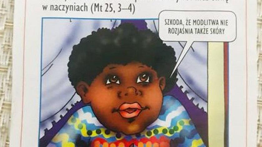 Rasizm we wrocławskiej podstawówce. Ulotki z czarnoskórym dzieckiem