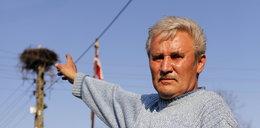 Rolnik żąda odszkodowania za kupy bociana