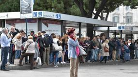 Na ulicach Rzymu panuje całkowity chaos