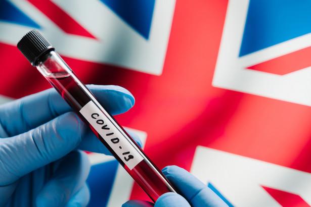 Koronawirus. Wielka Brytania