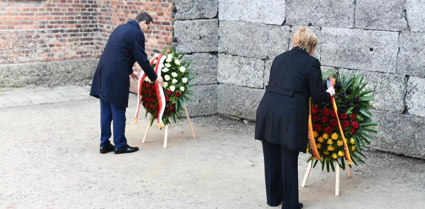 Merkel: wstydzę się za zbrodnie Niemców