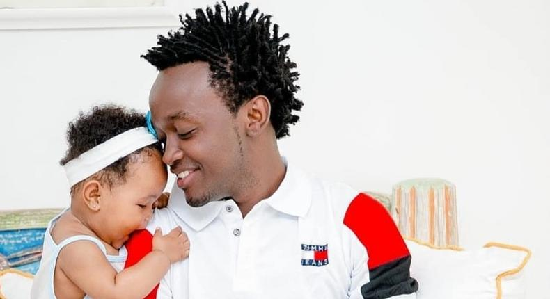 Bahati breaks down on live TV after question on his mother