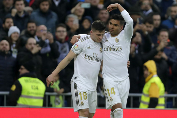 Luka Jović, Kazemiro, FK Real Madrid