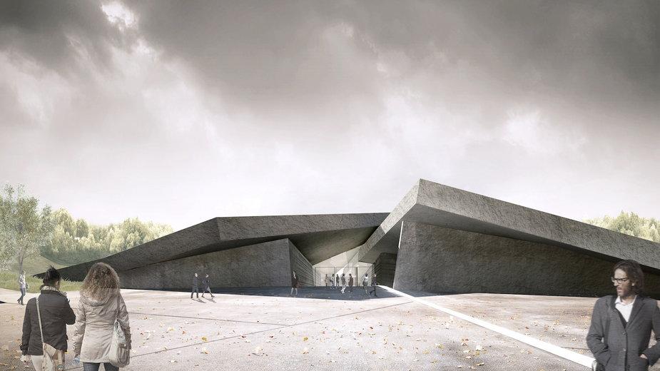 Muzeum Hołodomoru-Ludobójstwa w Kijowie. Zaprojektowała je polska pracownia Nizio!