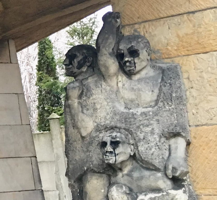 Zbezcześcili polską świątynię