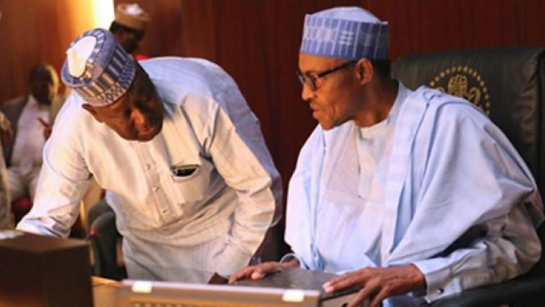 Image result for Babachir Lawal and Buhari