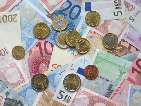 evri, evro, novac