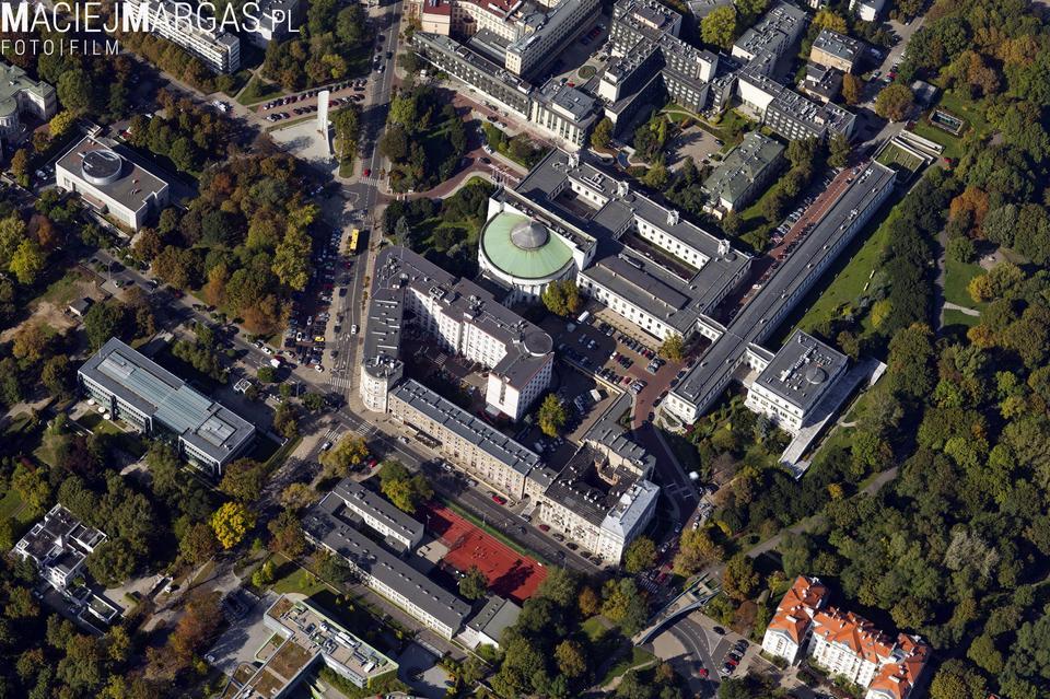 Zdjęcia Warszawy z lotu ptaka, jakich jeszcze nie było!