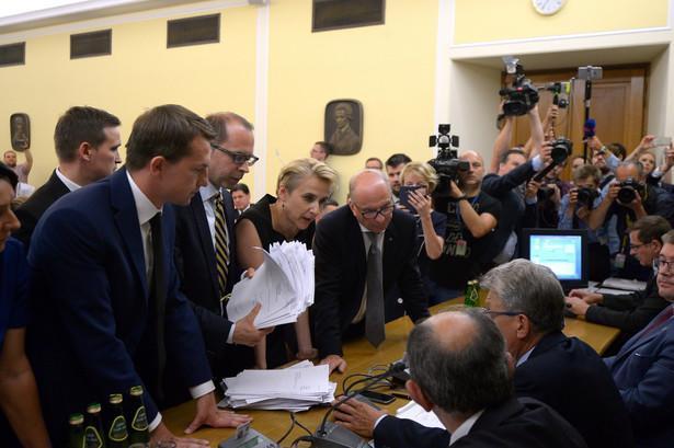 Prace nad projektem ustawy posłów PiS o Sądzie Najwyższym