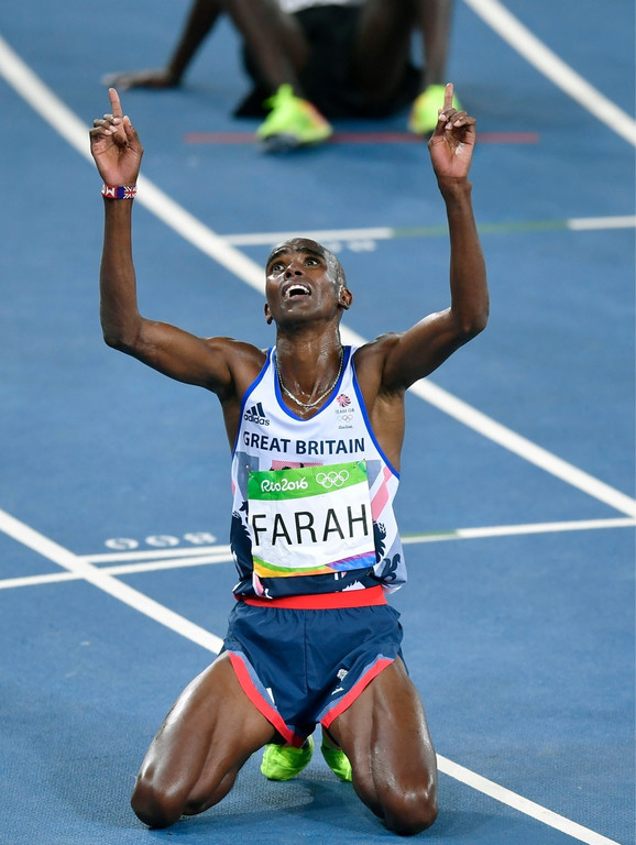 Mo Farah slavi olimpijsko zlato u Riju