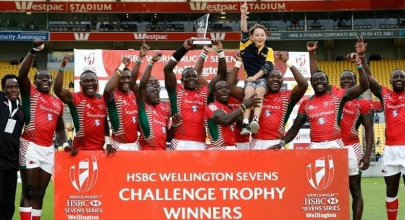 Kenya lifted the challenge trophy title after beating Australia 19-17 in the final.