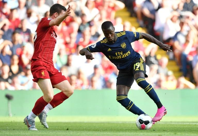 Pacey Pepe: Nicolas Pepe impressed on his full Arsenal debut despite defeat to Liverpool