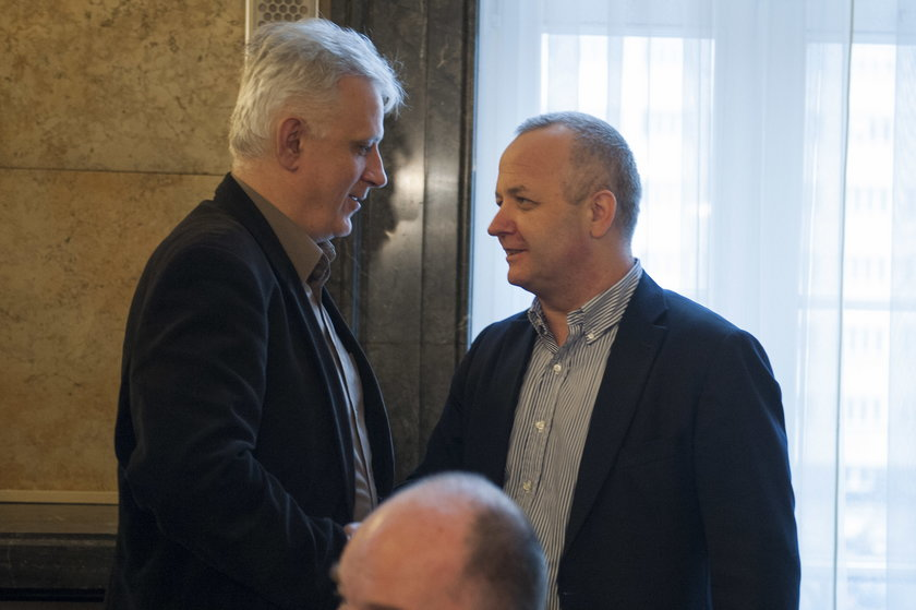 Katowice. Śląski Urząd Wojewódzki. Druga tura rozmów rządu ze związkowcami
