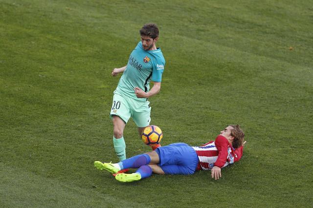 Serđi Roberto na meču sa Atletikom