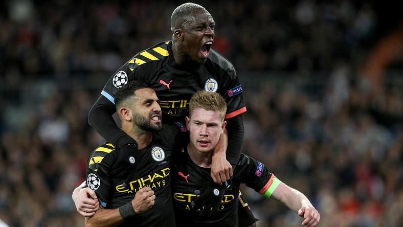 Radość piłkarzy Man City