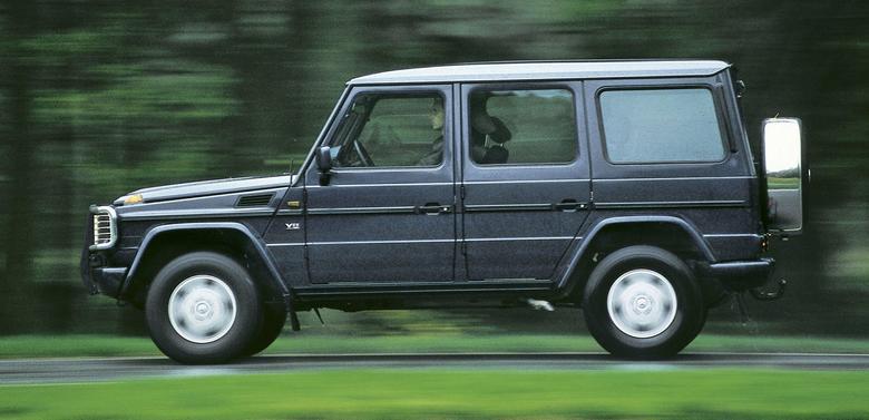 Terenówka Mercedesa ma silną pozycję na rynku. Do wyboru nadwozia 3d (kabrio lub zamknięte) i 5d.