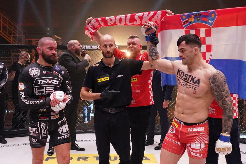 Chorwat jest czempionem KSW wagi półśredniej (77 kg), ale w sobotę wygrał z Materlą w średniej (84 kg). Czy rzuci wyzwanie Mamedowi Chalidowowi (40 l.)?