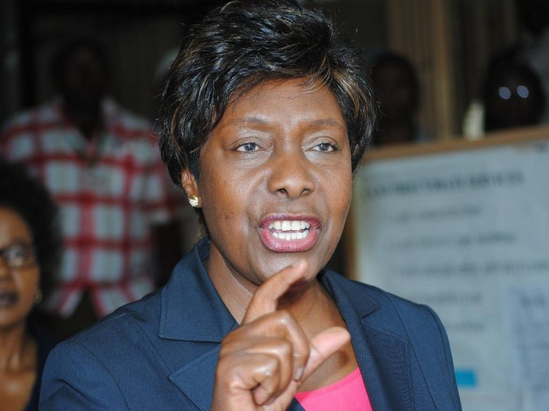 Kitui Govenor Charity Ngilu