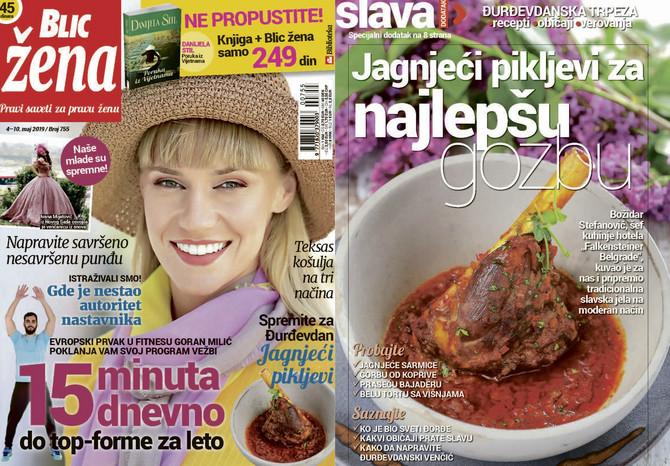 "Nova ""Blic žena"" na kioske stiže u subotu 4. maja"