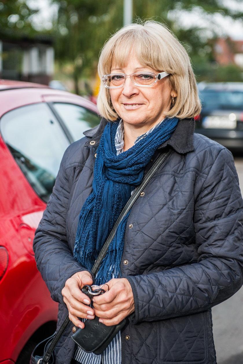 Elżbieta Welman (52 l.), mieszkanka osiedla