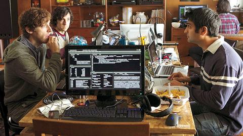 """Programiści w serialu """"Silicon Valley"""" prod. HBO"""
