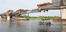 Most ma już dwa przęsła!