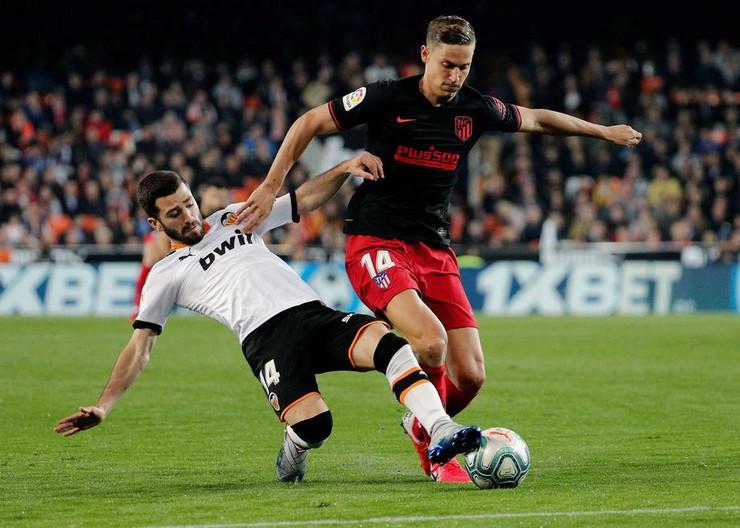 FK Valensija - FK Atletiko Madrid