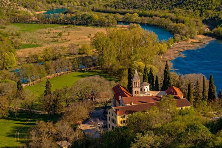 Kistanje, manastir Krka