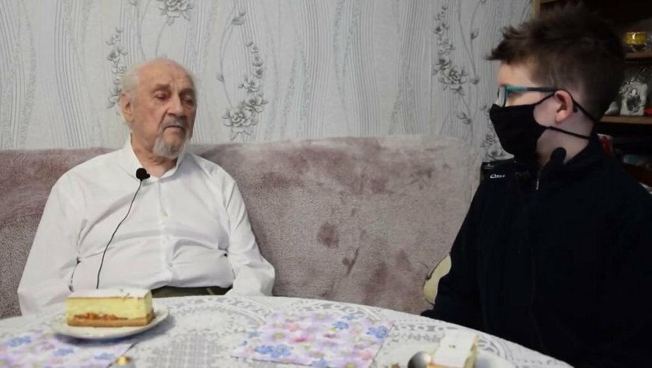 """13-letni Oliwier rozmawiał z żołnierzem oddziału """"Bartka"""""""