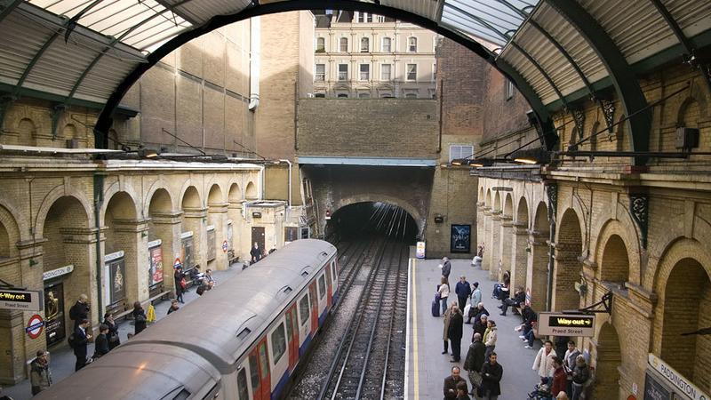 Londyn, stacja metra Paddington