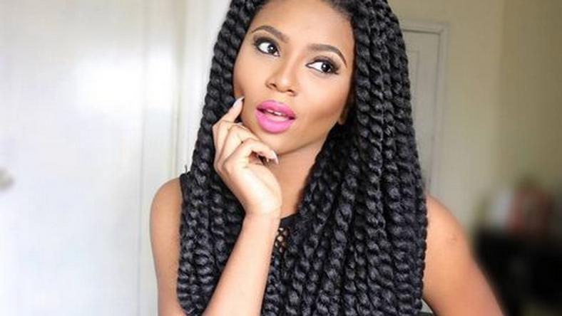 Stephanie Coker rocks the crotchet trend