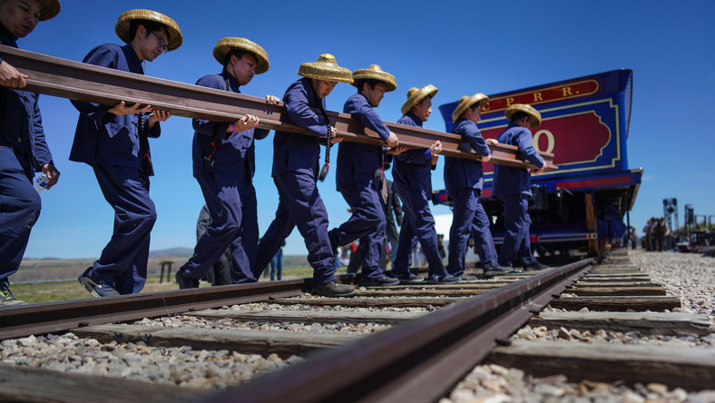 Chinese railroad workers were almost written out of history, now they're getting their due