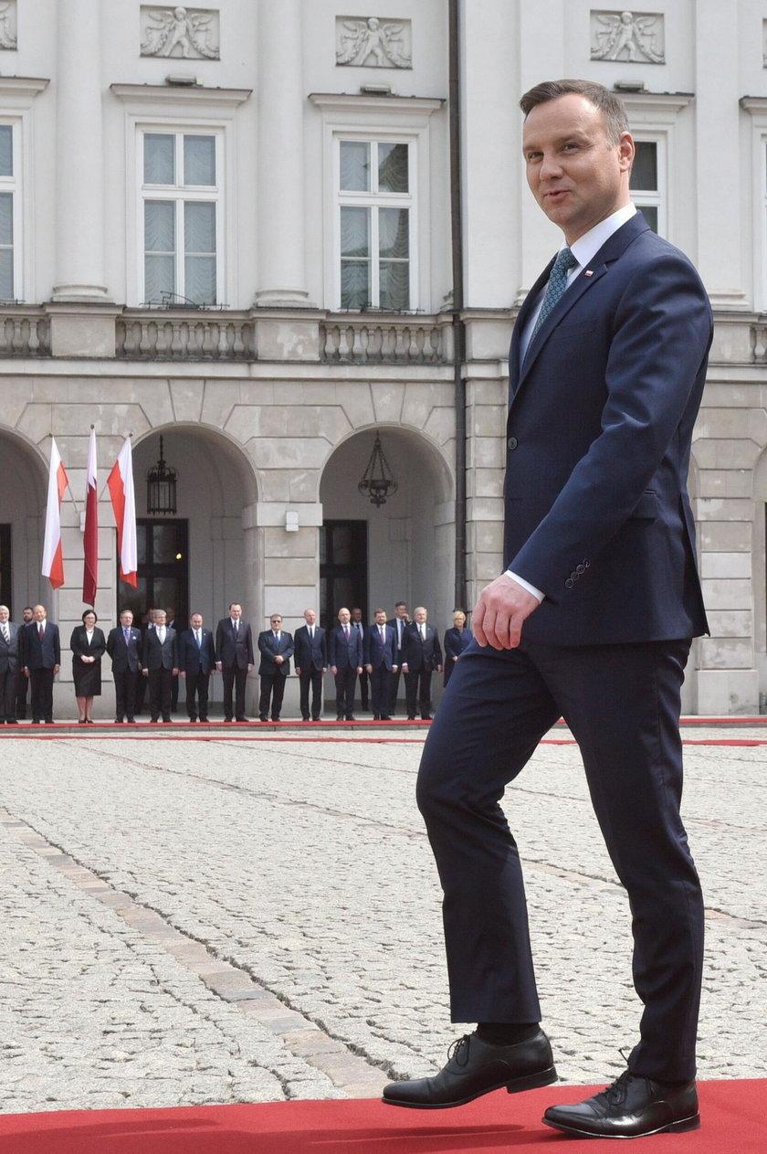 Gdzie jest Andrzej Duda? Prezydent zniknął przed wizytą Trumpa