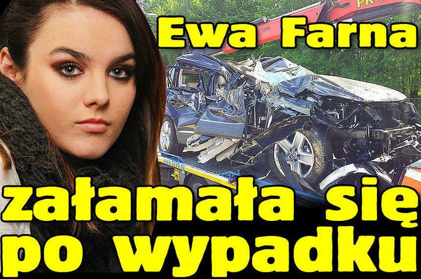 Ewa Farna załamała